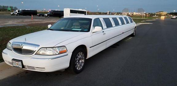 Tmx White Limo 2 14 Passengers 51 1049281 Alexandria, VA wedding transportation
