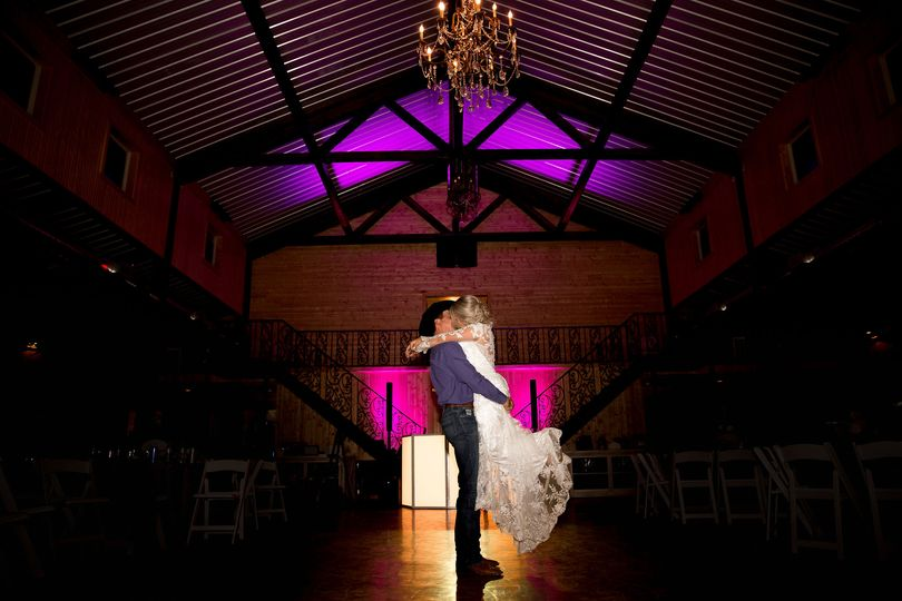 Last dance/up lighting