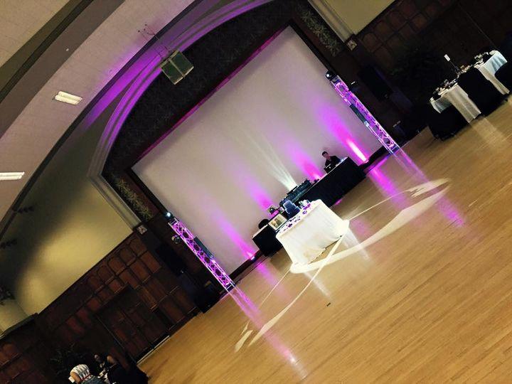 Purple and pink lighting