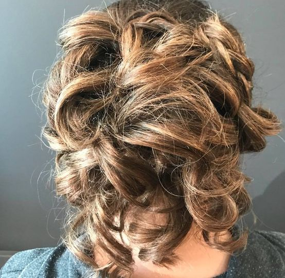 Wedding updo by Erin Smith Creations