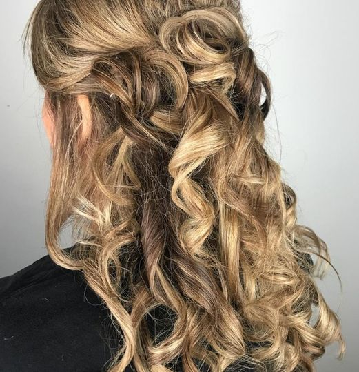 Wedding hair by Erin Smith Creations