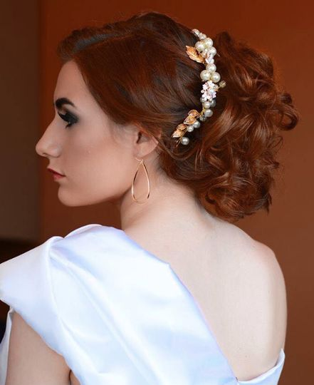 Wedding hair and makeup by Erin Smith Creations