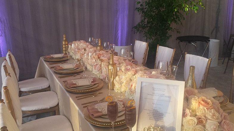 Fancy table setup