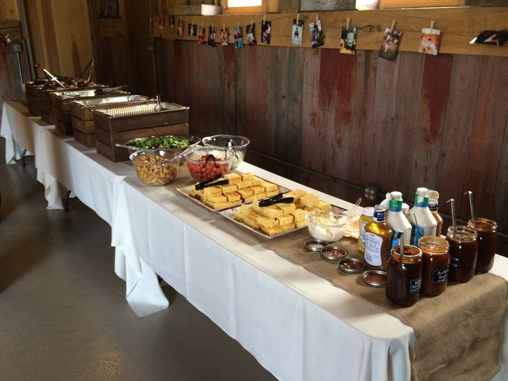 Tmx Buffet At Barn 51 1991381 160383163834826 Mount Vernon, OH wedding catering
