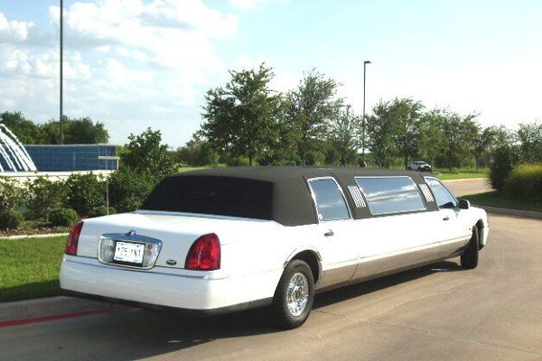 Rear of the limo