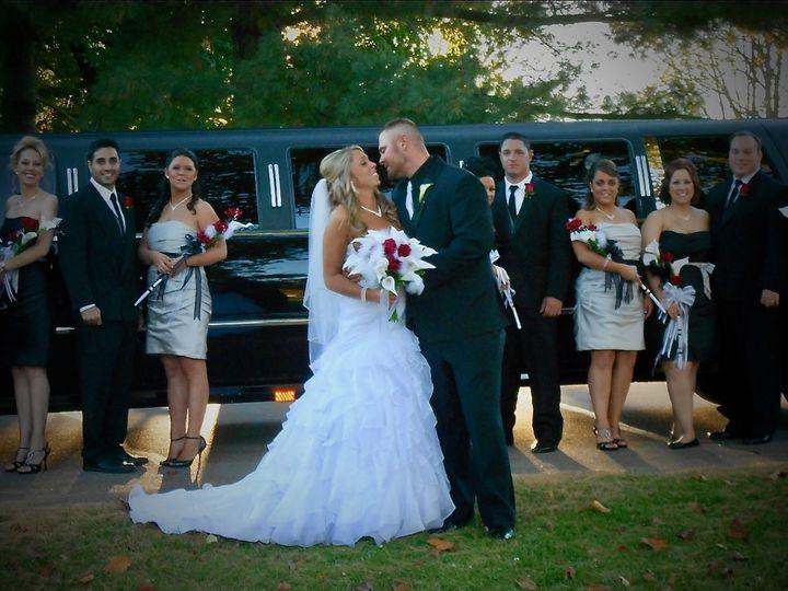 Tmx Bridal Party With Cadillac Escalade 18022 Super Stretch 51 903381 Youngstown, Ohio wedding transportation