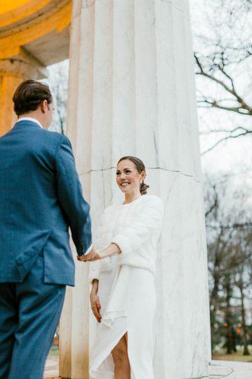 Sunrise wedding in DC