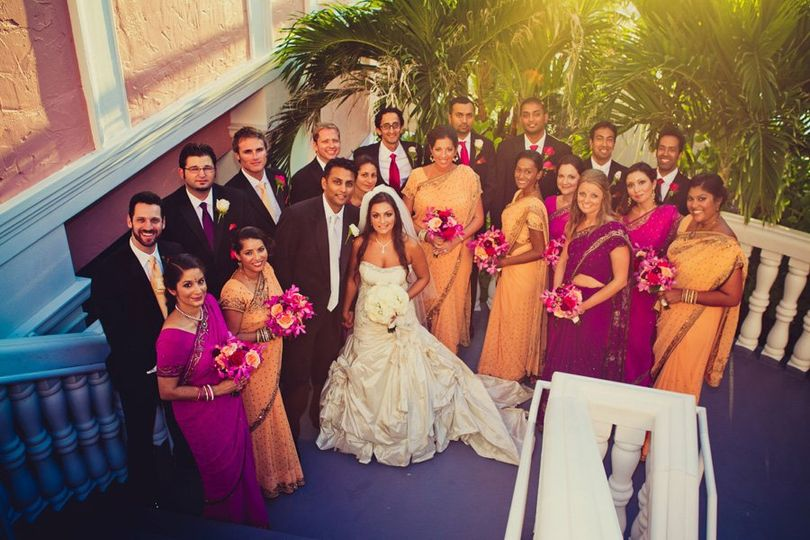 BridalPartyIndianDonCesar
