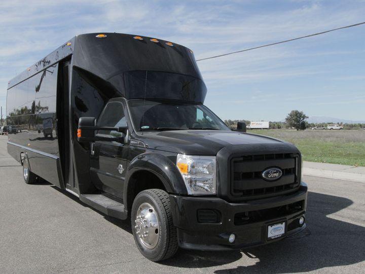Tmx 1416345540034 26 Pax New Bus 3 West Hollywood wedding transportation