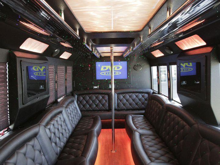 Tmx 1416345548217 26 Pax New Bus 4 West Hollywood wedding transportation