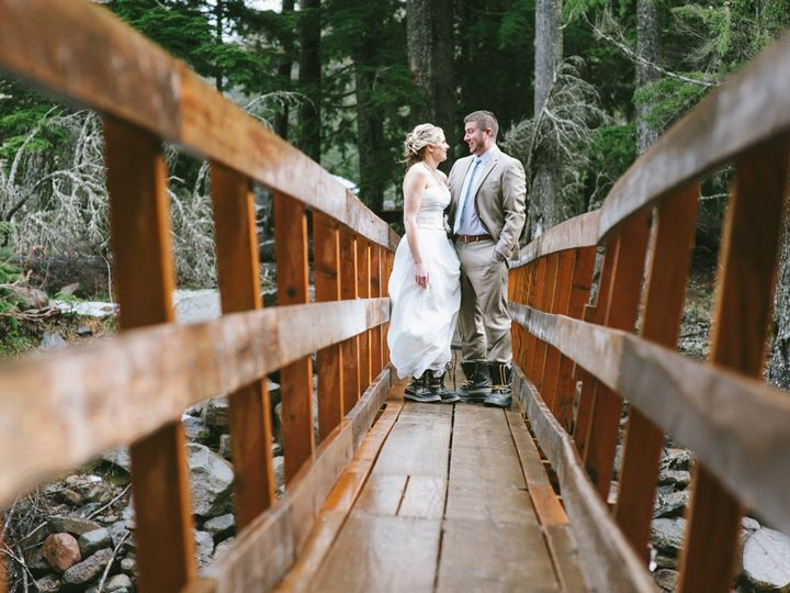 Tmx 1510358234430 Karissa  Mitch  394 Mount Hood Parkdale wedding venue
