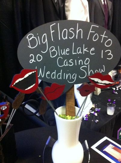 At the wedding show