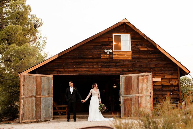 Historic Barn Reception Area