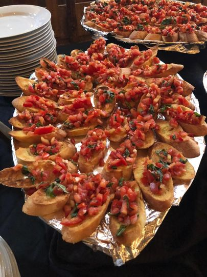 Appetizers #weddings #woodfire