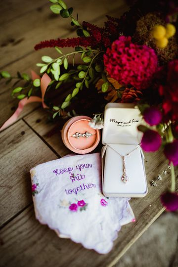 Bride's Humor In Every Detail