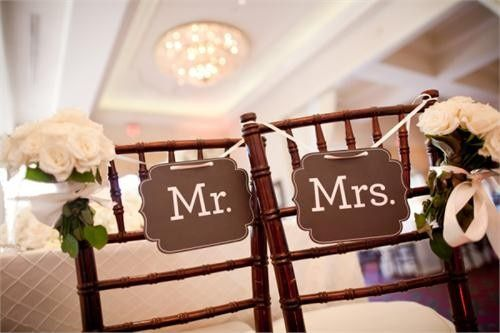 Tmx 1419522247447 Mr. And Mrs. Reception Chair Signs 600x400 Jefferson City, MO wedding catering