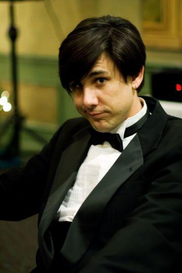 Man in a black tux