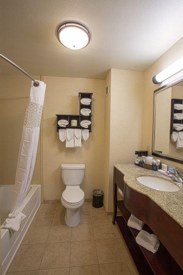 Bathroom in the Two Queen Beds Room