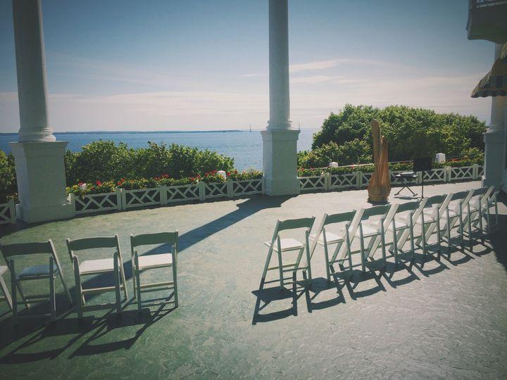 Wedding at the Grand Hotel on Mackinac Island, MI