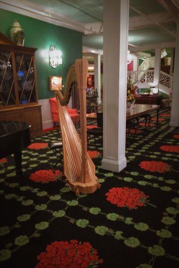Playing at the Grand Hotel on Mackinac Island, MI.
