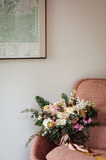 Flower Detail in Cabin