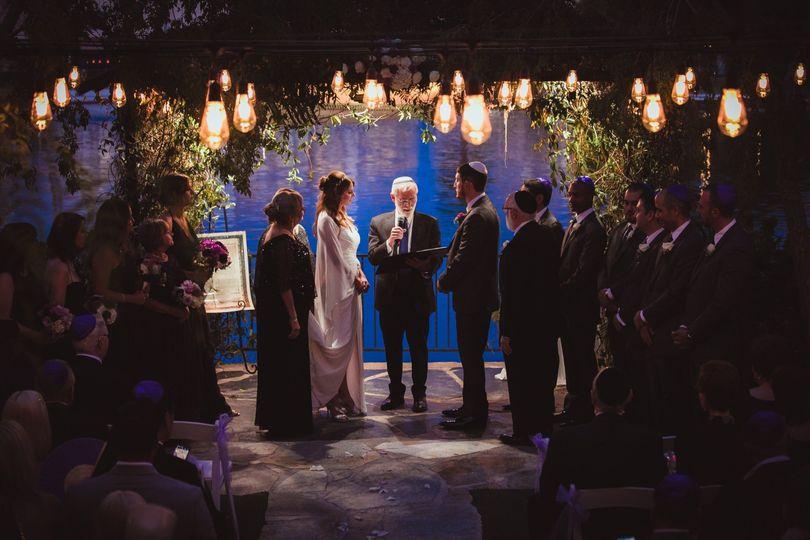 Illuminated ceremony