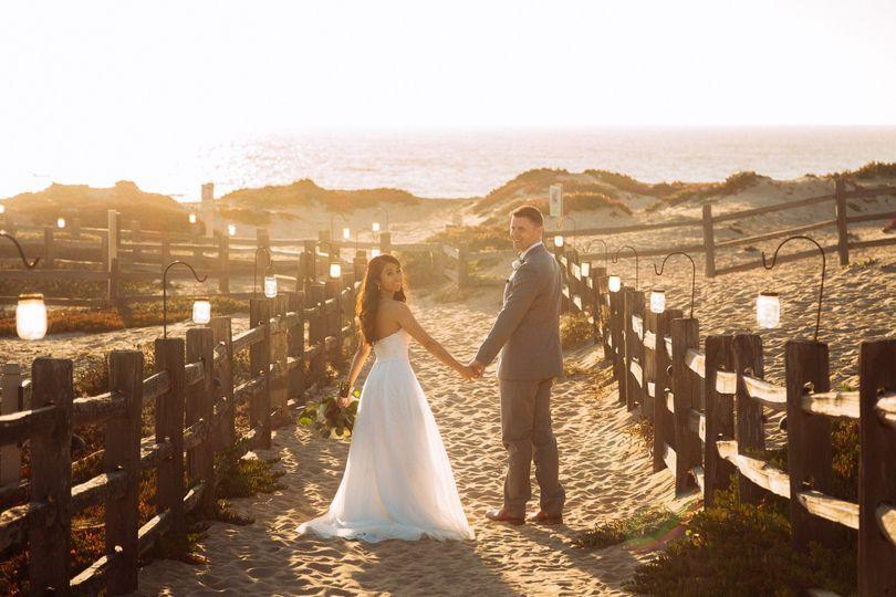 A wedding in Monterey