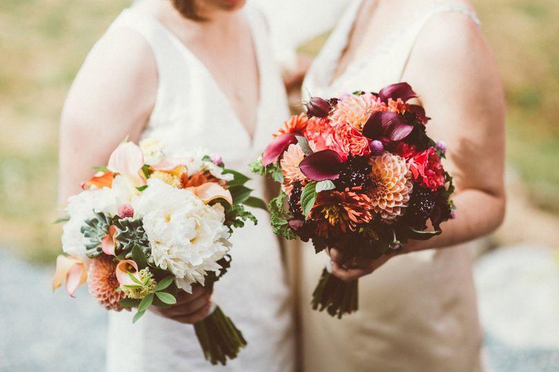 gay wedding flowers