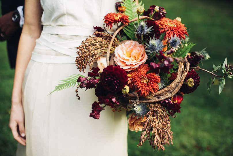 bridal bouquet by vases wild image by lightworks36
