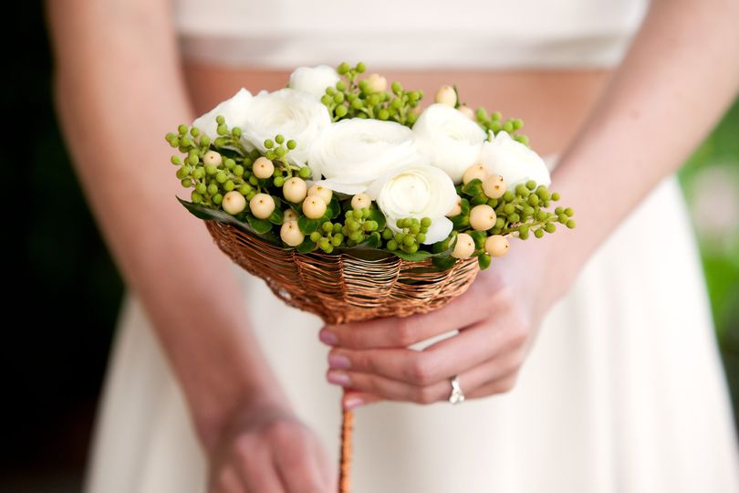 modern bridal bouquet by vases wild image by kim n