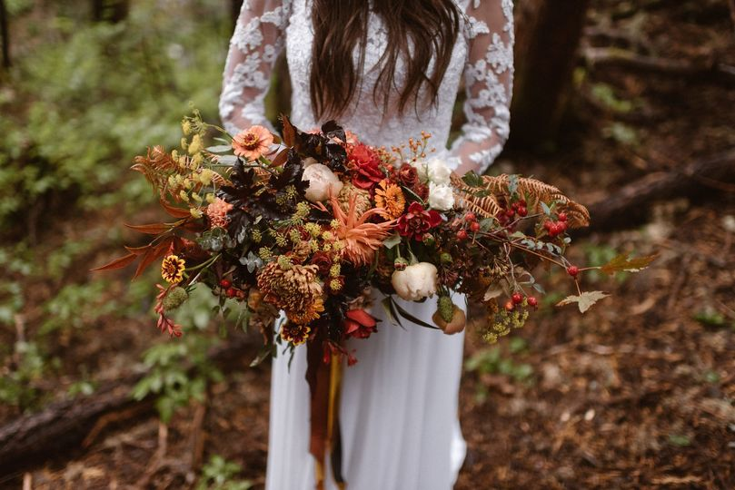 destination elopement flowers by tobey nelson even
