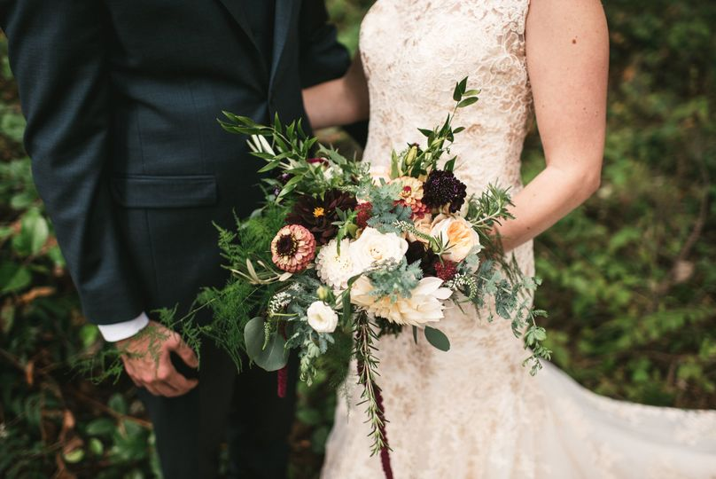 whidbey island wedding flowers by tobey nelson eve