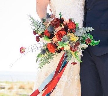 Tmx 1457718101856 Bridal Bouquet By Vases Wild Image By Mazagran Pho Langley, WA wedding florist