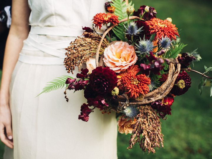 Tmx 1457718151468 Bridal Bouquet By Vases Wild Image By Lightworks36 Langley, WA wedding florist