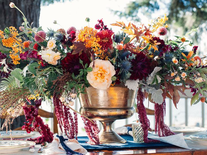 Tmx 1457718173150 Giant Centerpiece By Vases Wild Image By Lightwork Langley, WA wedding florist