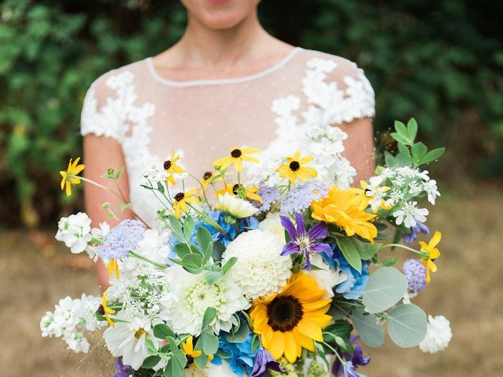 Tmx 1457718191945 Sunflower Bridal Bouquet By Vases Wild Image By Ja Langley, WA wedding florist