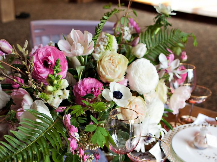 Tmx 1471934529945 Wedding Table Setting By Vases Wild Image By Kim N Langley, WA wedding florist