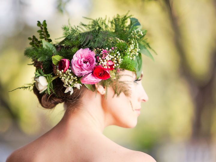 Tmx 1471934583255 Flower Crown By Vases Wild Image By Kim Nowell Langley, WA wedding florist