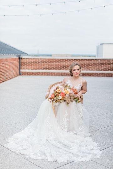 Bride on Harper's Terrace