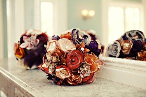 DIY Bouquets We can make them or teach you how to make them!  From Michelle and Deborah's Wedding...