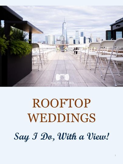 RoofTop Wedding