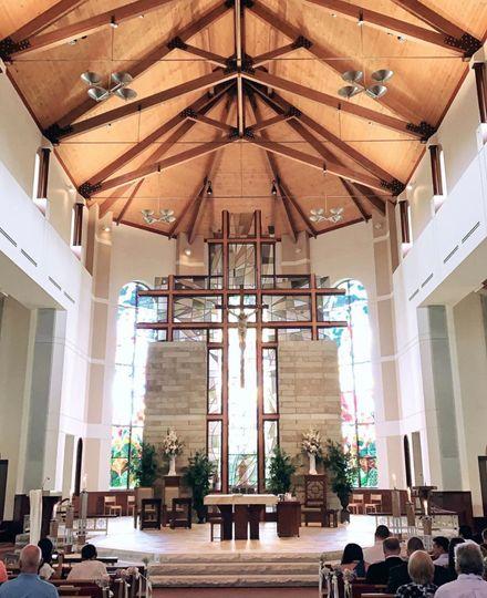 Breathtaking church ceremony