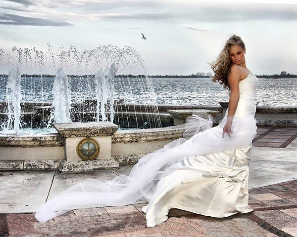 Bride at the Fountain