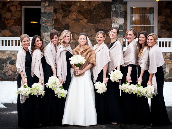 Tmx 1427389706434 Heather And Chris Bridal Party And Family 0119 Morristown, NJ wedding beauty