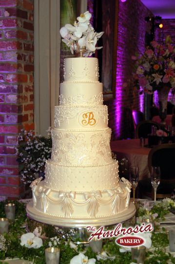 The Ambrosia Bakery - Wedding Cake - Baton Rouge, LA - WeddingWire