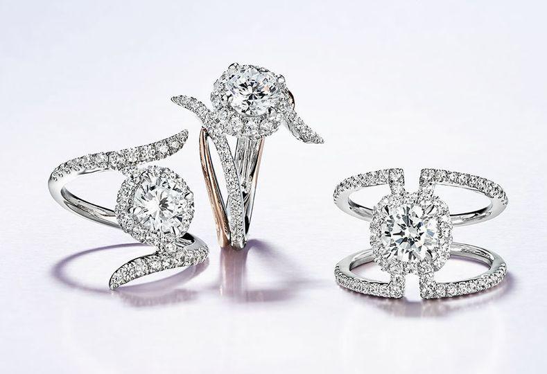 7 unique engagement rings