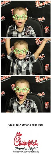 chick fil a premier night photo booth event