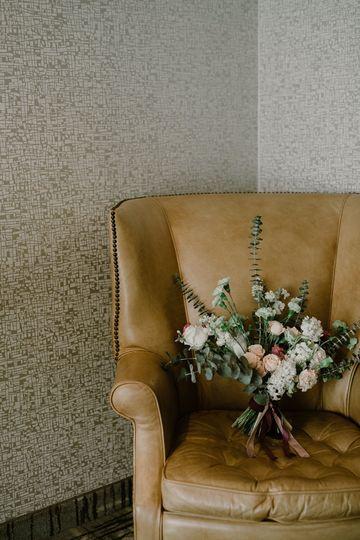 Modern Bridal Bouquet All