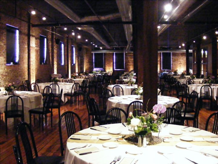 Centennial Ballroom with uplighting