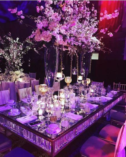 Beautiful table setup